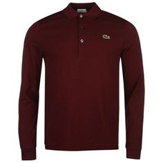 Lacoste | Lacoste Long Sleeve Slim Fit Polo Shirt | Mens Polo Shirt