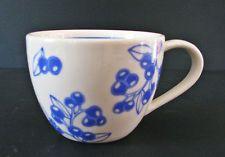 Starbucks Blue Berry Coffee Mug 13 oz 2007 Cup Ceramic Blueberry Berries
