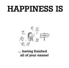 Exams… finished!!