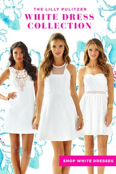 Click to see ALL of our White Dresses.
