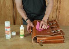 Die 6 wichtigsten Tipps zur Pflege von #Ledertaschen und #Leder-Rucksäcken.