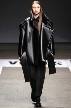 VFiles Fall 2014 Ready-to-Wear Fashion Show - Melitta Baumeister