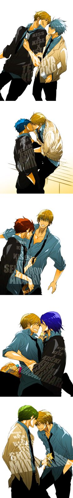 Kise... Ah~ I love this guy. And so does all the other Kiseki members, too, I guess! ^_^;;