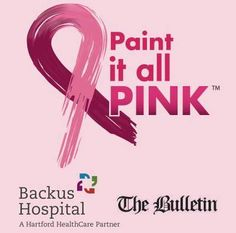 Paint It All Pink: Bulletin to go pink supporting breast cancer awareness - Look for The Bulletin's pink newspaper on newsstands tomorrow, Wednesday Oct. 1. Throughout October, we'll be supporting breast cancer awareness featuring local stories and content with the support of our advertisers and sponsor, Backus Hospital. Read more: http://www.norwichbulletin.com/article/20140930/NEWS/140939985 #Health #BreastCancerAwareness