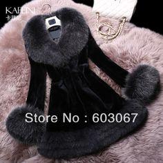 920 USD Free Shipping 2014 real silver fox fur rex rabbit velvet fur coat woman slim long women's fur coat natural Russian winter coats faux fur pleas