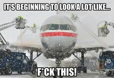 Don't let bad winter weather hinder your flight plans. Learn how you can avoid winter weather delays by chartering a private jet. Aviation Humor, Civil Aviation, Airline Humor, Pilot Humor, Passenger Aircraft, Boeing Aircraft, Flight Attendant Life, Fear Of Flying, Commercial Aircraft