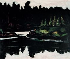Marsden Hartley, Robin Hood Cove, Georgetown, Maine, 1938. Oil on board, Whitney Museum of American Art, New York; 50th Anniversary Gift of Ione Walker in memory of her husband, Hudson D. Walker