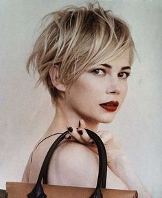 12.Messy Pixie Hairstyles