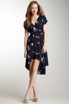 Navy bird dress