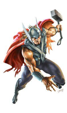 Thor by Juan Pablo Vargas Salinas
