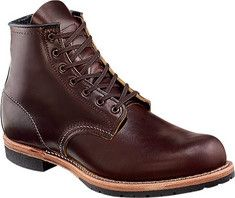 These are classic round toe, work boots made to withstand the rigors of hard work and the brutality of harsh weather. These boots are made of the highest quality materials, has roccia sole, Goodyear welt construction made with Red Wing's finest Featherstone leather.