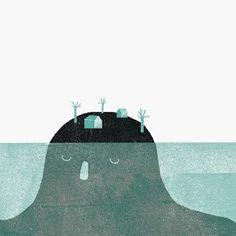 lidia lobato, gigante, giant, isla, island, head