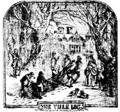 21 décembre : Yule. couronne de sapin
