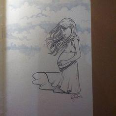 Day 6 By Chagas Ilustrações/Luciana Chagas #inktober2go #inktober #inktober2015