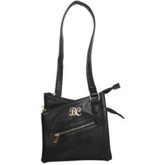 Cross Body Purse With Holster Blk