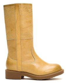 Look at this Banana Campus Stitching #Kids #Horse #Leather #Frye #Boot on #zulily today!