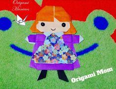 Origami Maniacs 136: Family 3: Mom