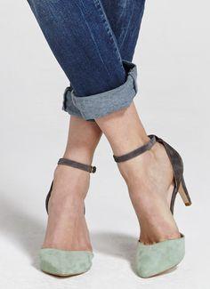 Mint & Grey Sandi Court | Shoes | MintVelvet