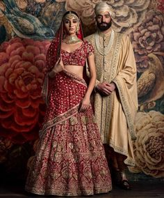 Perfect Sabyasachi Ensemble for an Indian Wedding