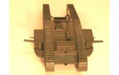 "1/35 scale plastic British Mark IV ""Tadpole"" experimental tank"