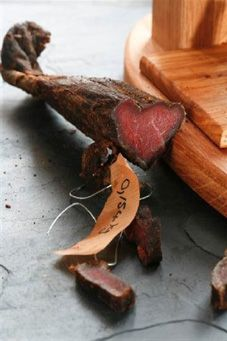 Sometimes nothing beats a piece of good biltong