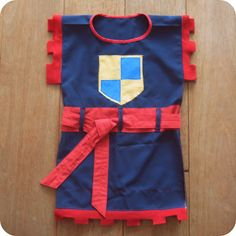 Need to make one of these dress up/costumes for my little knights :)