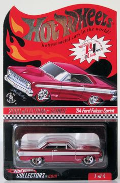 2009 Hot Wheels RLC Selections 64 Ford Falcon Sprint 453/4631