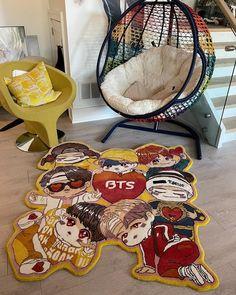 Custom Rugs, Punch Needle, Hanging Chair, House Design, Random, Pattern, Furniture, Home Decor, Carpet
