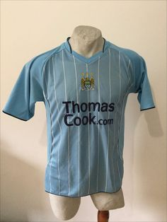 Maglia calcio manchester city football shirt mathias trikot jersey vintage