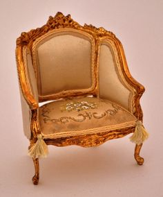 Hand Painted French Chair by Maritza Moran