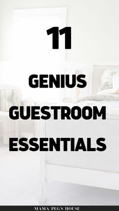 Wow! After searching online for inspiration I am so excited to share these genius guest bedroom essentials that will make your guests feel like they are in their home away from home! guest bedrooms decor | guest room decor | decorating guest bedroom | guest bedroom decor ideas | guest room decor ideas | guest room decor diy #ideas guest rooms ideas #guest room bedding #guest ideas bedroom Guest Bedroom Decor, Guest Bedrooms, Diy Room Decor, Guest Room Essentials, Bedroom Organization Diy, Diy Ideas, Decor Ideas, Searching, Bedding