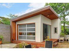 Modern #mancave in the backyard! #Seattle #Washington