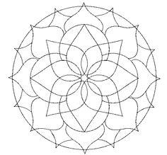 Coloring Page Mandala 14 To Color Online Coloringcrewcom
