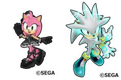 goth amy rose sonic runners - Google Search
