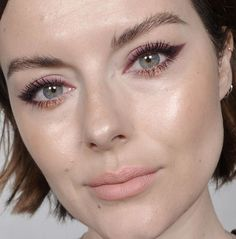 Eggplant and Rose Gold. Match made in makeup heaven! EYES @loraccosmetics mega pro 3 Eggplant, Violet grey, rust and Rose quartz @smithandcult Lash Dance Mascara SKIN @eve_lom TLC CREAM @itcosmetics confidence in a compact @drlancerrx Dani glowing skin perfector LIPS @bareminerals Matte liquid in Wink (my fave liquid matte Formula to date)