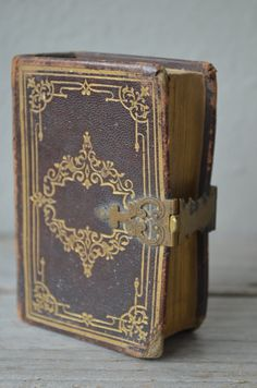 Antique Miniature Book by housewarming101 on Etsy