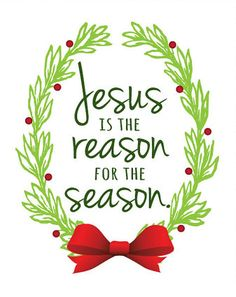 Image result for he is the reason for the season clipart