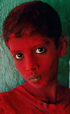 Red Boy, India by Steve Mc Curry