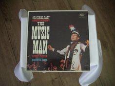 405) 💿LP: The Music Man - Original Cast, Preis 10€