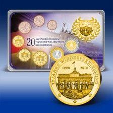 Euro Gedenktagset  20 Jahre Wiedervereinigung