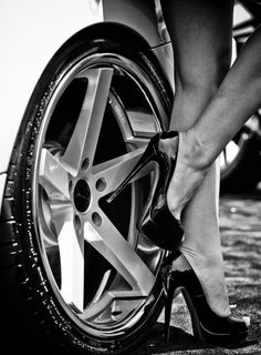 The best things in life are shoes and cars!