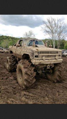 Lifted Chevy Trucks, Cool Trucks, Pickup Trucks, Muddy Trucks, Chevy 4x4, Dually Trucks, Truck Memes, Chevrolet Trucks, Truck Quotes