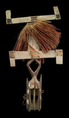 Kanaga style dance mask | Museum of Fine Arts, Boston