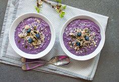 sunn frokost med quinoa, kokos og nøtter