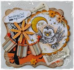 owl be thinking of you whiff of joy stamp - Google Search