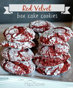 Red Velvet Box Cake Cookies Recipe – Hip2Save