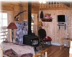 Desoto Cabin Rental: Quiet- Secluded Streamfront Log Cabin- Hot Tub! | HomeAway