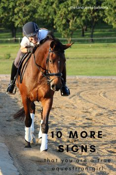 What are the tell tale signs that you are a true equestrian girl? Read on to find out