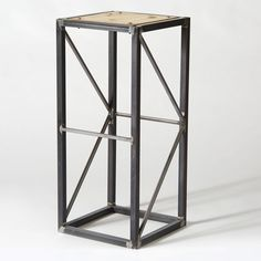 "Custom Made ""Stage Truss"" End Table/Stool/Pedestal"