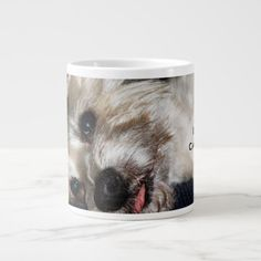 #photo - #This Dog Is In Need Of Caffeine Now! Large Coffee Mug